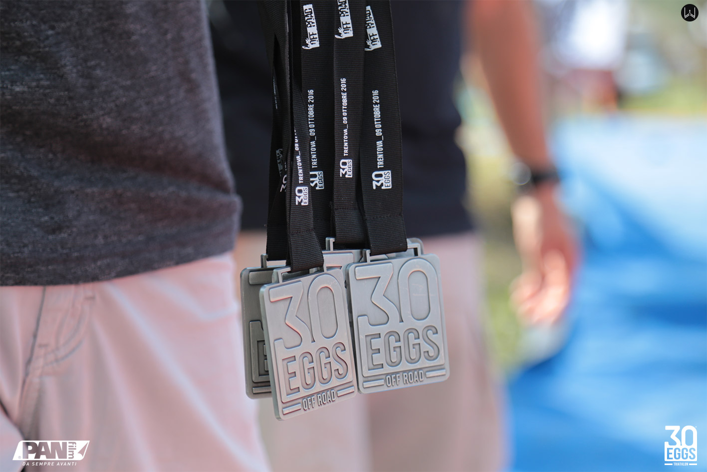 Medal - 30EGGS Triathlon Cross Super Sprint