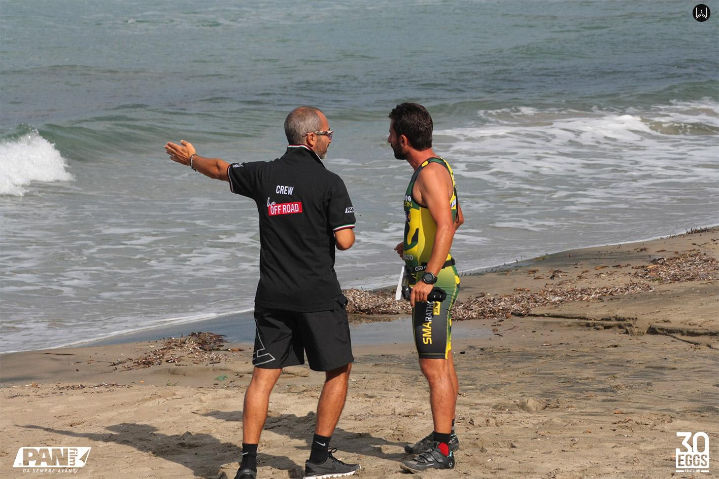 Frazione nuoto - 30EGGS Triathlon Cross Super Sprint