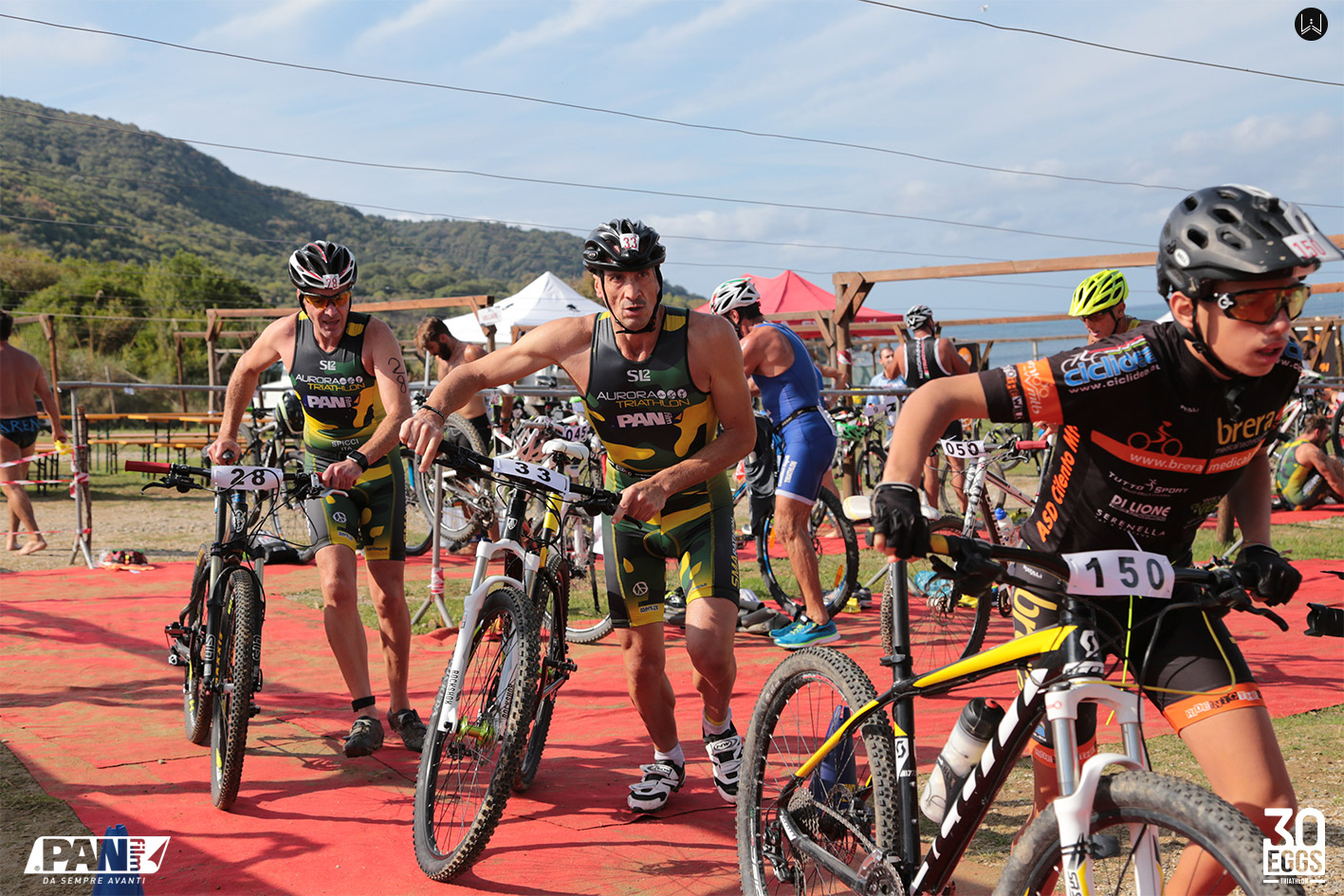Partenza mtb - 30EGGS Triathlon Cross Super Sprint