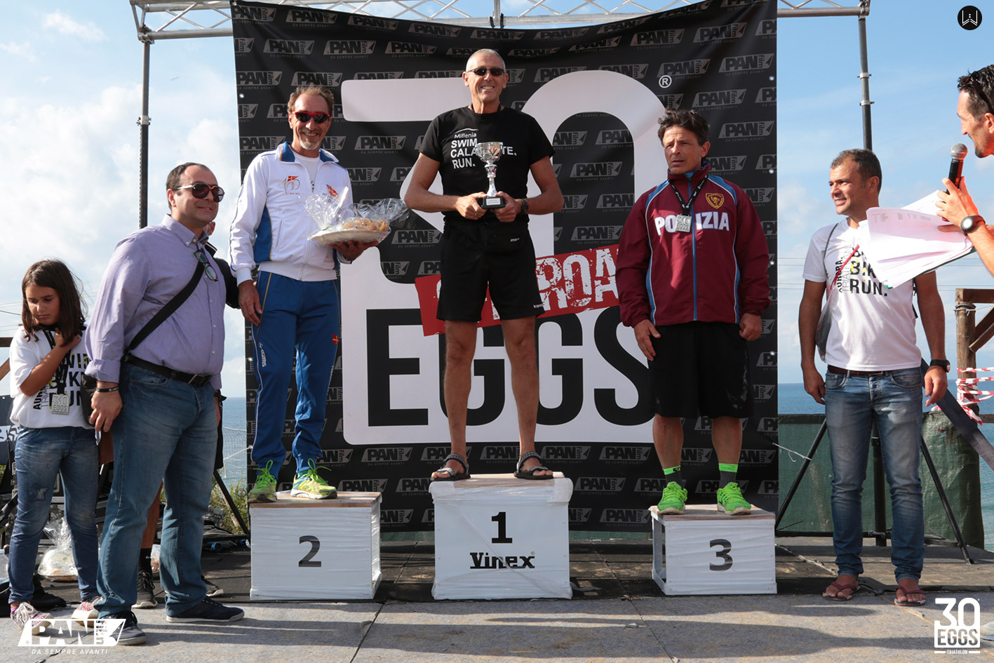 Podio - 30EGGS Triathlon Cross Super Sprint