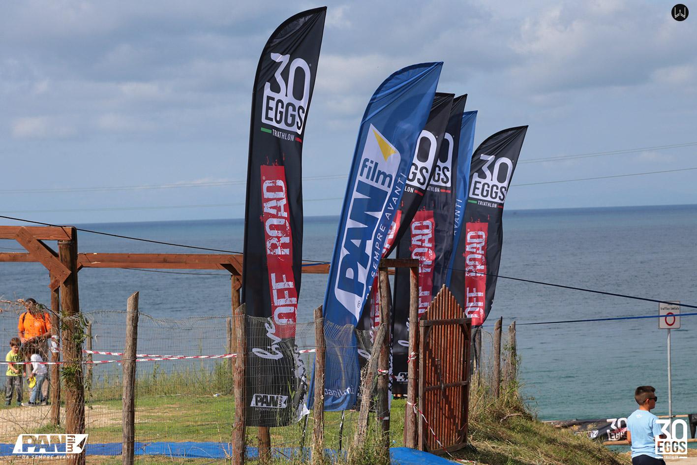 Bandiere - 30EGGS Triathlon Cross Super Sprint