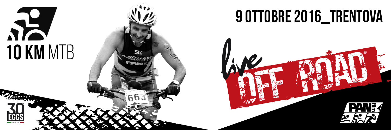 10 Km MTB - 30EGGS live off road - Triathlon